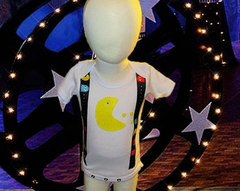 Pixels Movie Inspired Bodysuit or Shirt