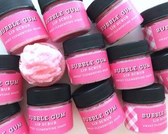 Bubble Gum Lip Scrub, Argan Butter Sugar Lip Scrub, Lip Balm, Lip Polish