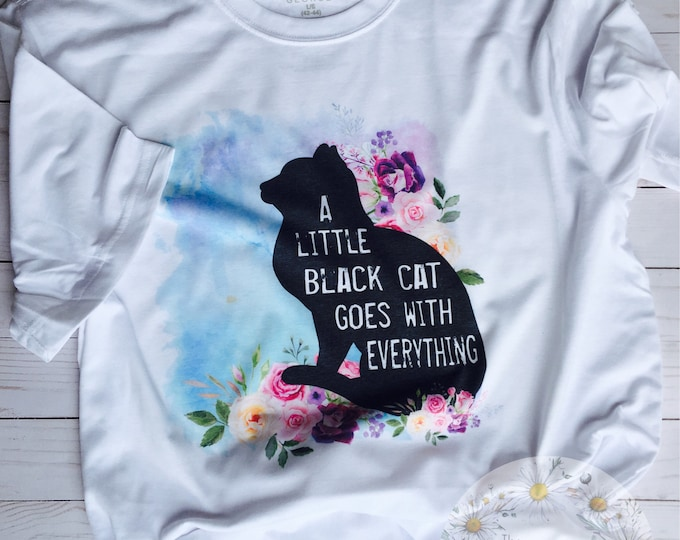 Little Black Cat Shirt