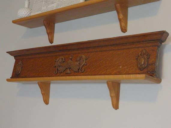 Ornate Door Pediment, Antique Door Header, Antique Pediment, Carved Wood  Decor, Antique Shelf, Architecture Salvage Wood Antique Wood Trim, ... - Ornate Door Pediment, Antique Door Header, Antique Pediment, Carved