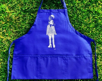 The Productive Queen Daddy Apron