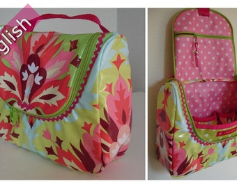 OpStap - Hanging toiletry bag e-pattern
