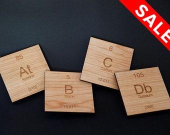 Cherry Wood // At B C Db Coasters