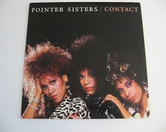 Pointer Sisters - Contact - Circa 1985