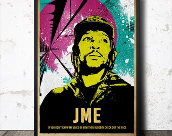 JME Grime Poster