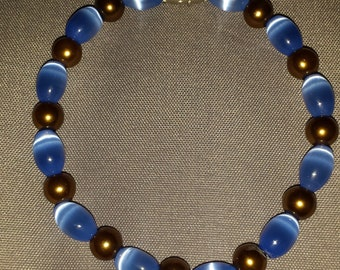 Bracelet Blue/Brown