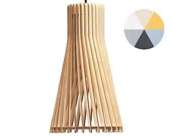 Cassela Aktro pendant lamp d 22 cm, various colours-eek A + + wooden lamp pendant lamp