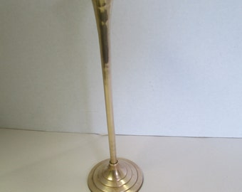 Vintage brass Candle holder. used
