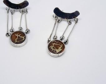 Tuna Earrings