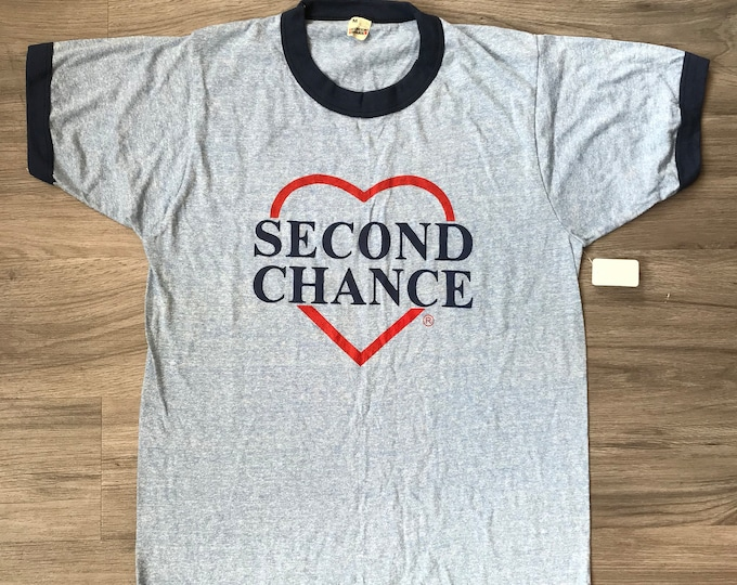 80s Second Chance Ringer Tee