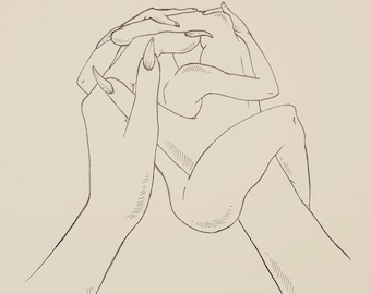 Heart hands.