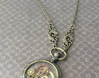 Clockwork Pendant