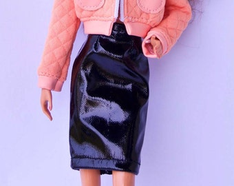 Barbie clothes - Barbie jacket - Barbie doll clothes, Fashion Royalty doll clothes, Poppy Parker, 12 inches action figure