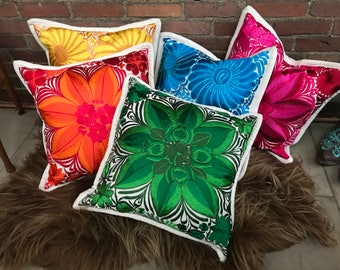 Embroidered Pillow Shams