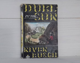 Rare paper back version of Duel In The Sun By Niven Busch, W.h. Allen, 1947