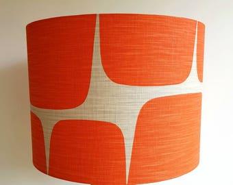 Scion Lohko Fabric Lampshade in Paprika & Pebble