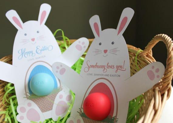 Eos lip balm bunny gift printable gift eos lip balm easter negle Choice Image