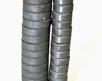 70- Ceramic Craft Magnets- Strong Magnets, School Magnet, DIY Magnet, Circular Magnet, Teachers Magnet, Fridge Magnet