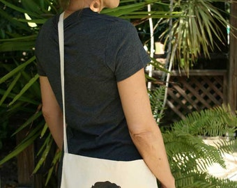 Pride and Prejudice  - Jane Austen Bag - Mr Darcy Cross Body Tote Bag - JAB001