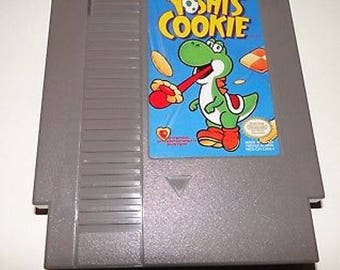Vintage Nintendo Yoshi's Cookie Nintendo NES 1985