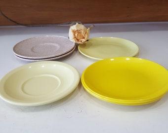 Vintage Texas Ware Riviera Ware Melmac Dishware Molded Plastic Melamine Dinnerware Retro & Yellow texas ware   Etsy
