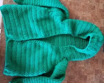 4T Hooded sweater DIGITAL DOWNLOAD crochet pattern