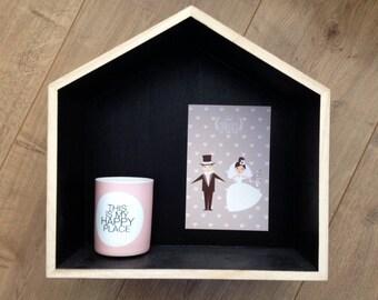 Petite carte pour féliciter les mariés ou les invités