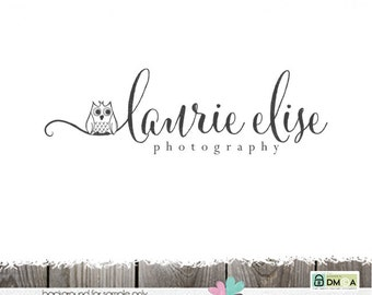 photography logo owl logo design premade photography blogger sewing blog logo designs