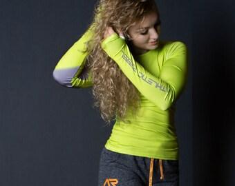 AR LIME ENERGY sports woman longsleeve