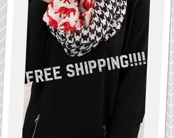 Houndstooth Scarf  FREE SHIPPING!!!