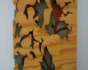 Plywood Cutout