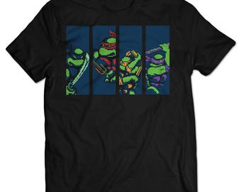 Teenage Mutant Ninja Turtles NES T-shirt