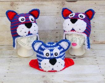 Crochet Tigers hat.