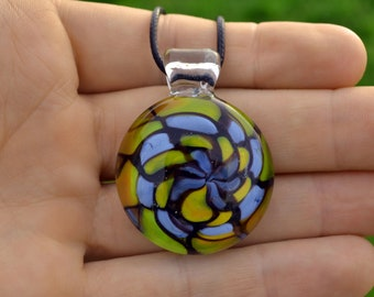 Pendy glass heady glass pendant necklaces glass jewerly glass pendant