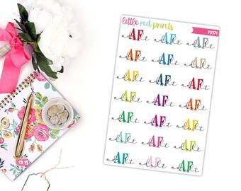 Adult AF Planner Stickers for the Erin Condren Life Planner, Sarcasm Planner Sticker, Sarcastic Sticker, Label Planner Sticker - [P0374]