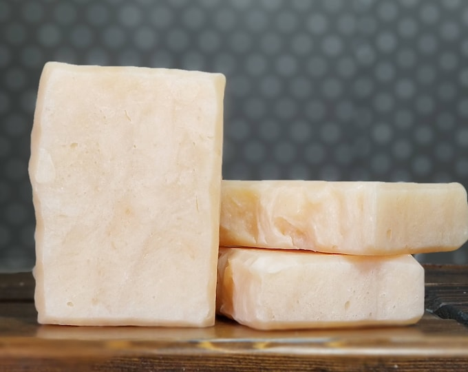"""Orange Creamsicle Scented Soap """"Phebe"""" Soap Goddess Loves Shakespeare Soap, vegetarian, lightly scented, yogurt soap, free shipping"""