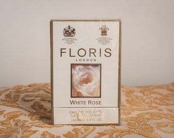 White Rose by Floris, 100ml, EDT, new