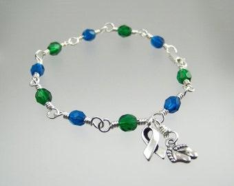 Congenital Cytomegalovirus Awareness Bracelet