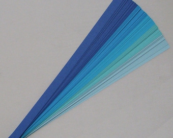 Sea & Sky Mix : Lucky Stars Paper Strips (100)