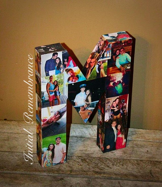 3d Picture Frame Photo Letter Collage Gift Children S