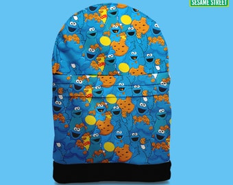 Cookie Monster backpack bag