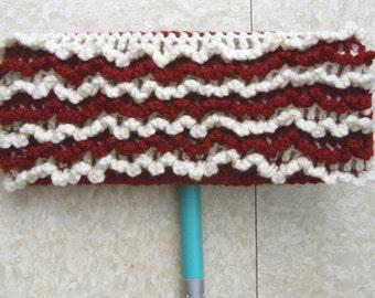 Red Swiffer Cloth - Ivory Swiffer Cloth - Red Floor Dusting Cloth - Ivory Floor Dusting Cloth - Reusable Swiffer - Washable Swiffer