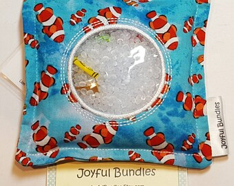 I Spy Bag, Fish, Car Game, Educational Game, Busy Bag, Travel Toy, I Spy Game, Party Favors, Eye Spy Game, Stocking Stuffer