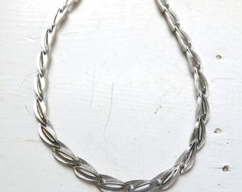 1960s Trifari Silver Necklace