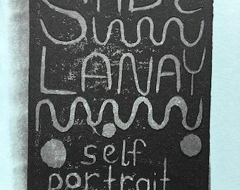 self portrait by Sade LaNay