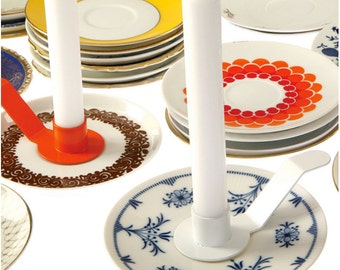 LOVELY ISOLDE · Candle holders for saucers / small plates