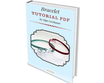 Bracelet Tutorial PDF - Woven Bangle - bracelet tutorial - wirewrap tutorial - jewelry Tutorial - wire wrap turorial - cuff tutorial