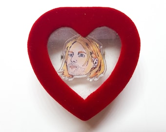 The Ultimate Grunge Ring with Heart Shaped Box