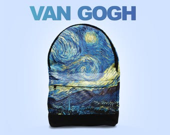 Vincent Van Gogh backpack bag