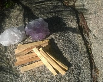 Palo Santo Sticks, Prayer, Home Cleansing, Native American, Holy Wood, Natural Wood, Used in Smudging